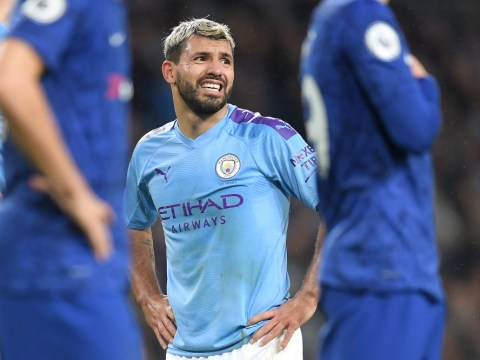 Guardiola rates chances of Aguero facing Man Utd after suffering injury vs Chelsea