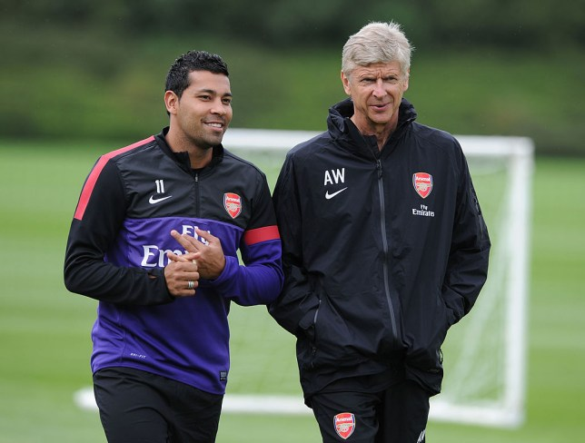Andre Santos says Arsenal's players laughed after a defeat under Arsene Wenger