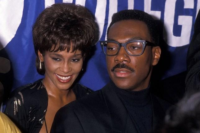 Whitney Houston and Eddie Murphy