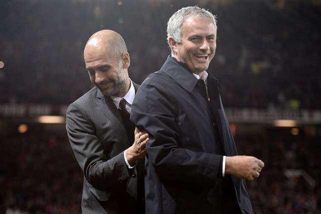 Pep Guardiola and Jose Mourinho will lock horns again in the Premier League after the form Man Utd boss was appointed by Tottenham