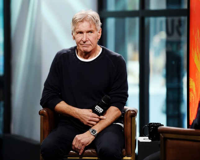 Harrison Ford staircase