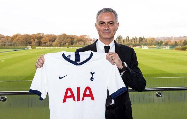 New Tottenham Hotspur manager Jose Mourinho