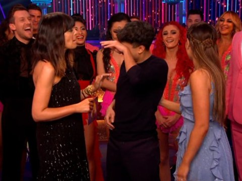 Strictly's Karim Zeroual holds back tears as he dedicates emotional performance to his mum