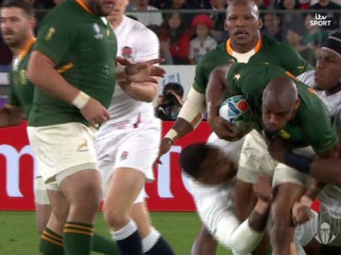 England prop Kyle Sinckler knocked out during World Cup final against South Africa