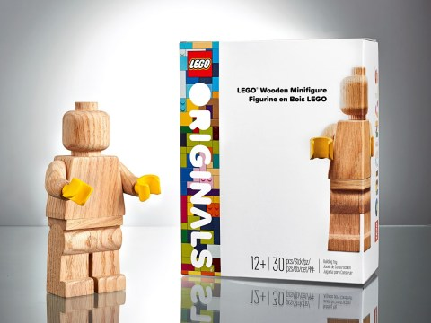 Lego Wooden Minifigure is a very different kind of Lego exclusive