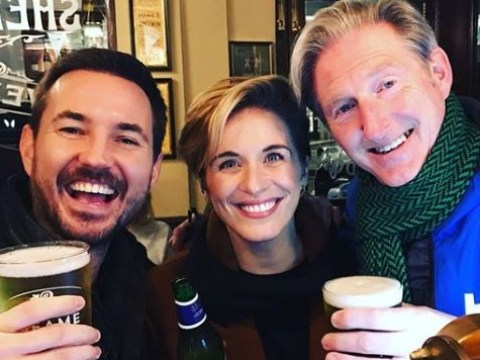 Line of Duty's Martin Compston teases 'huge H spoiler' as he reunites with Vicky McClure and Adrian Dunbar