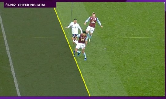 Roberto Firmino's goal for Liverpool against Aston Villa was ruled out for offside by VAR