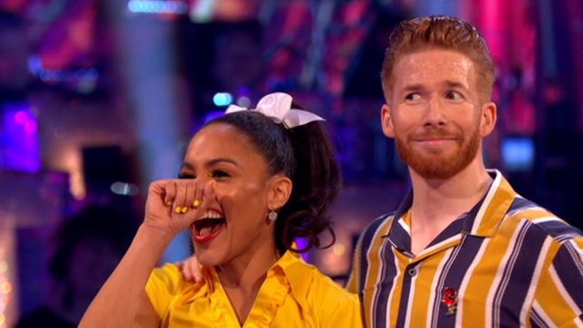 Awkward Strictly Come Dancing moment as judge Motsi Mabuse references affair – in front of a shocked Neil Jones