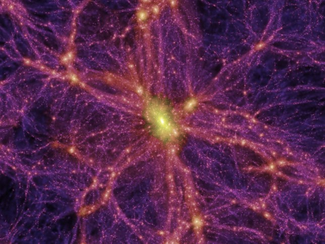 Researchers say they have observed energy that 'connects the visible world to dark matter'