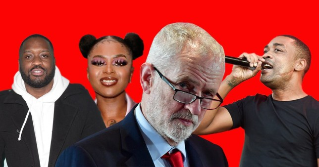 Grime 4 Corbyn are backing Labour