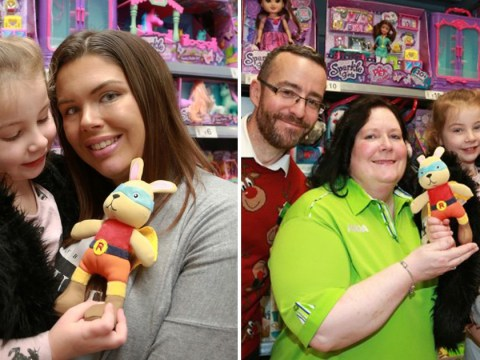 Mum praises Asda after they tracked down discontinued toy for daughter that matched her late granddad's