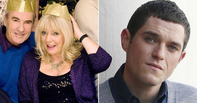 Alison Steadman and Mathew Horne in Gavin and Stacey