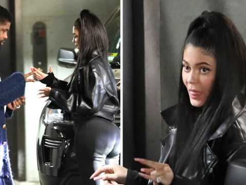 Kylie Jenner plays rock paper scissors with her pal after hanging out with Stassie Baby and beau Tyler Cameron