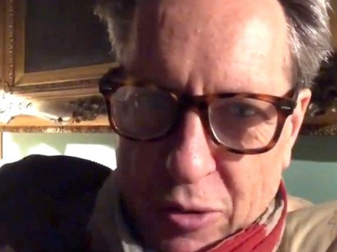 Richard E Grant finds his stolen car after desperate plea on Twitter and it's a bit 'bashed'