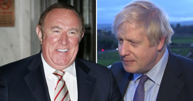 Boris Johnson and Andrew Neil