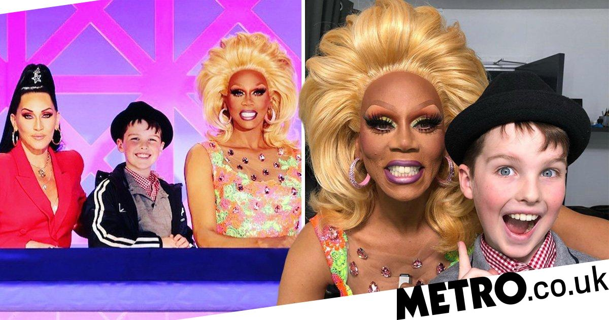RuPaul and Young Sheldon hang out at Drag Race in unexpected team u