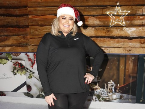 Gemma Collins gives us all the festive feels as she braves the ice rink again