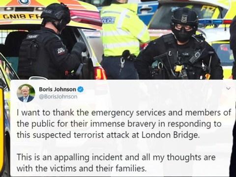 Boris Johnson returns to Number 10 following London Bridge terror attack