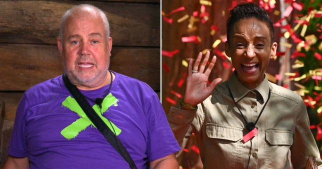 Cliff Parasi and Adele Roberts on I'm A Celeb
