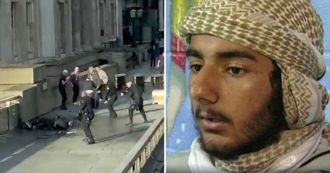 London Bridge Terror attack and picture of knifeman Usman Khan
