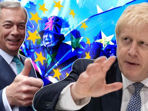 Nigel Farage tells Boris to drop his Brexit deal or he will 'contest every seat'
