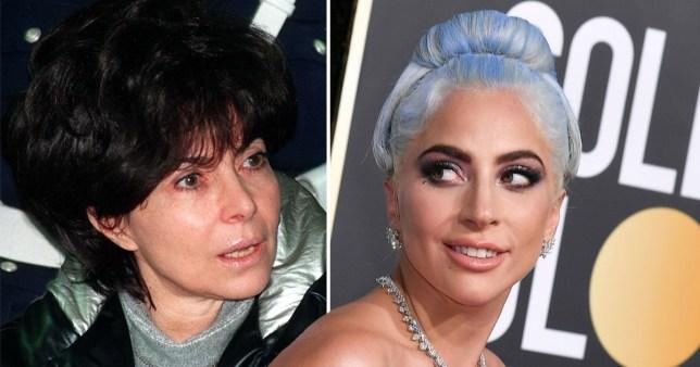 Patrizia Reggiani and Lady Gaga
