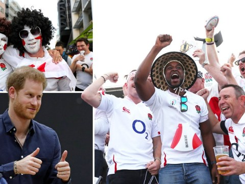 England rugby fans gearing up for World Cup final clash against South Africa
