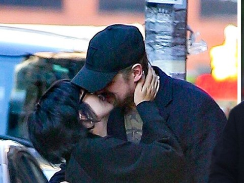 Lily Allen and David Harbour loved up in New York City as they smooch in street