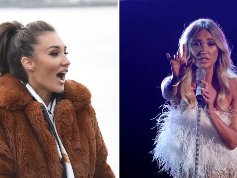 X Factor Celebrity's Megan McKenna 'won't change looks' after Simon Cowell slammed outfit