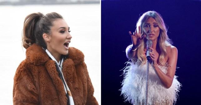 Megan McKenna on the X Factor Celebrity