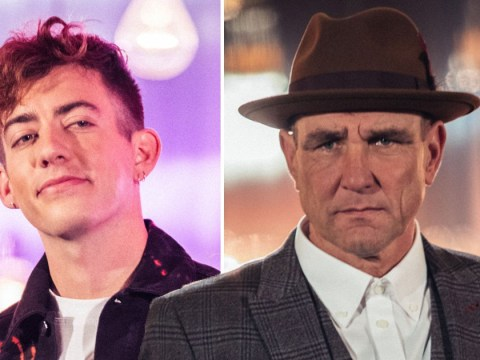 X Factor: Celebrity's Vinnie Jones and Glee's Kevin McHale are actually BFFs