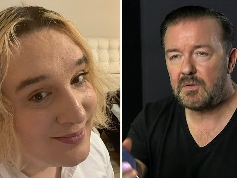 Fans slam Ricky Gervais for saying he'd dress up as transgender activist Jessica Yaniv for Halloween
