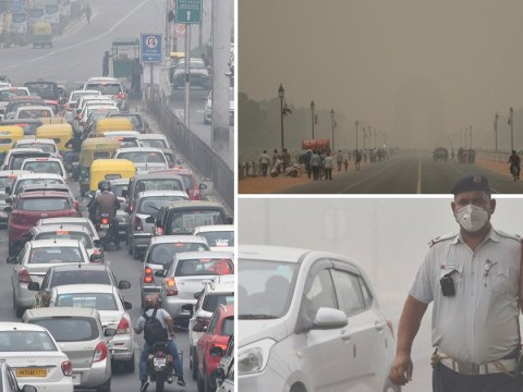 Toxic smog is so bad in New Delhi a two-week driving ban is in force