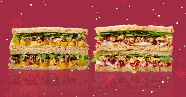 Pret releases its Christmas range with a new sandwich for 2019