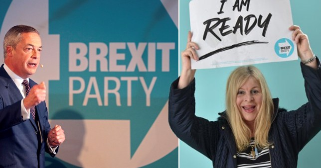 Brexit Party candidate stands down after saying she came from a star