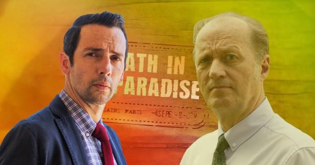Adrian Edmondson in Death In Paradise