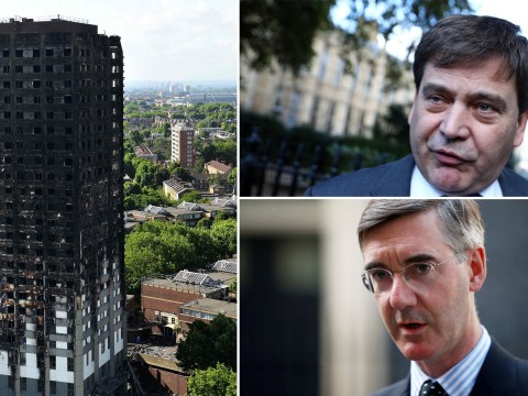 Tory MP suggests Jacob Rees-Mogg would have survived Grenfell because he's 'clever'
