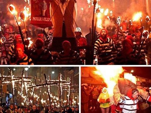 In pictures: Thousands turn out for Bonfire Night celebrations