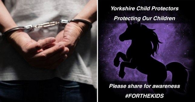 Yorkshire Child Protectors live streamed their sting of two innocent men