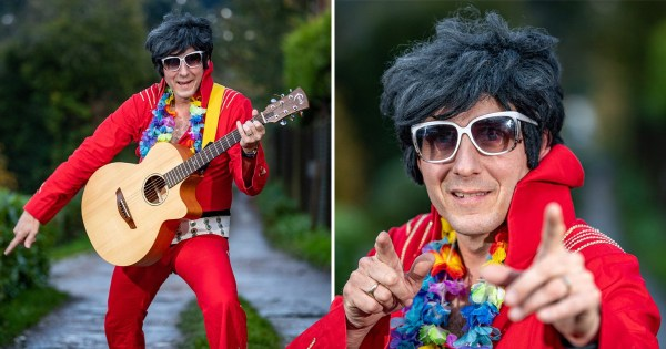 Elvis impersonator was so bad organisers wouldn't let him go on stage
