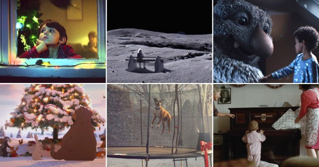 Comp of the John Lewis Christmas adverts