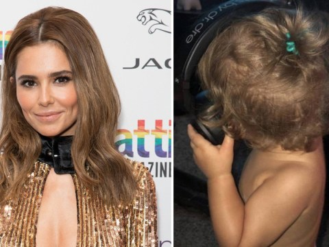 Cheryl feared son Bear being 'swapped at birth' as she opens up on motherhood
