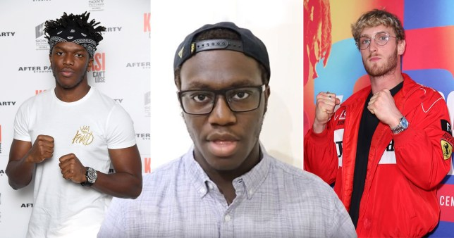 KSI, Deji and Logan Paul