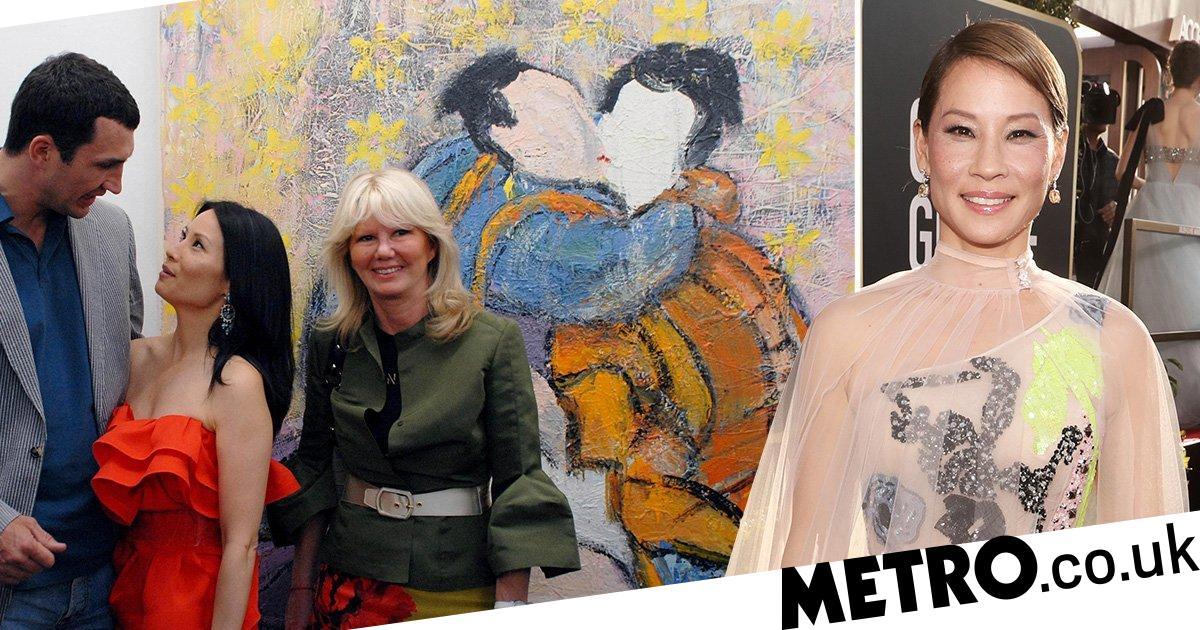 Lucy Liu S Secret Side Hustle Is Painting Lesbian Portraits Metro News
