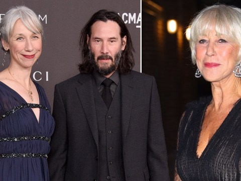 Helen Mirren 'flattered' after people mistake her for Keanu Reeves' new girlfriend Alexandra Grant