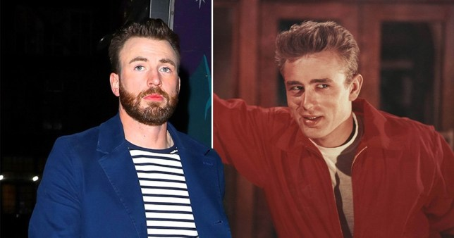 Chris Evans and James Dean