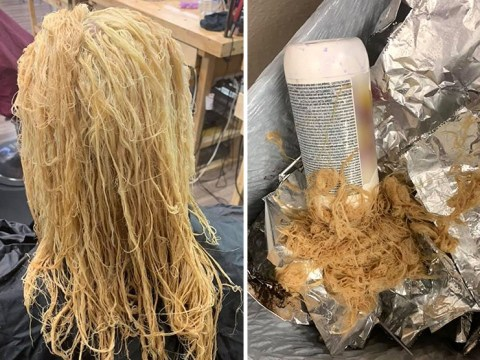 Mum cried for days after bleaching and using relaxer meant for 'African-American hair'