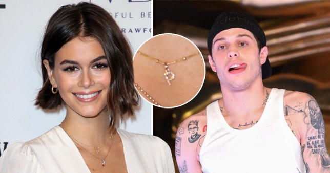 Kaia Gerber, Pete Davidson and the necklace