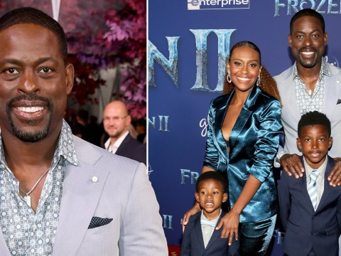 Sterling K. Brown jokes about being removed from starring role in Frozen 2: 'I hope I didn't get cut'