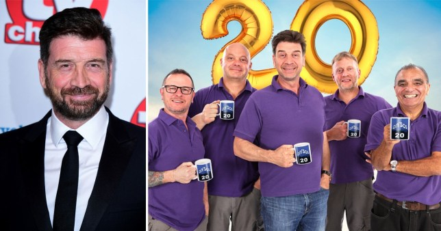 Nick Knowles reveals DIY SOS punch up bts
